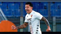 Gianluca Lapadula vuele a la acción en la Serie A.