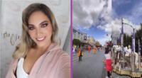 Isabel Acevedo viajó a Disney con su familia.
