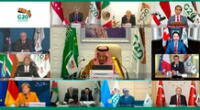 AMLO participó de manera virtual en Cumbre G20.