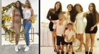 Samahara Lobatón celebró su cumpleaños junto a toda su familia