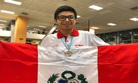 Mijaíl Gutiérrez obtuvo la medalla de oro con nota 20 en la XXXV Olimpiada Iberoamericana de Matemáticas .