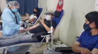 Niños y pacientes con cáncer se beneficiaron con donación de sangre