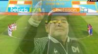 Maradona fue homenajeado en el Alianza vs. Mannucci.