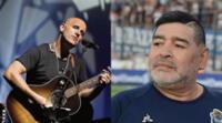 Gian Marco Zignago le escribió a través de sus redes sociales una despedida a Diego Armando Maradona