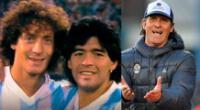 El exjugador Pedro Troglio recordó que estuvo al lado de Diego Maradona en una cancha de fútbol.