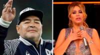 Artistas peruanos se despiden de Diego Maradona.