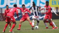 Alianza Lima en la fase 1 empató con Huancayo 1 a 1 .