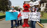La marcha se llevó en forma pacífica por las calles de Lima