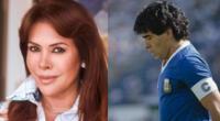 Magaly Medina hizo un reencuentro de pasajes negativos de la vida de Diego Maradona.