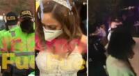 Olinda Castañeda igual logró celebrar su boda.