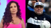 Janet Barboza presentaba un segmento sobre los excesos de Diego Maradona en América Hoy cuando soltó la errónea información.