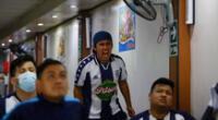 Cientos de hinchas lamentaron la derrota de Alianza Lima.