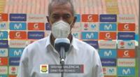 Wilmar Valencia, técnico de Sport Huancayo tiene las cosas claras.
