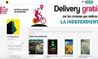 Por compras en La Independiente el delivery es gratuito a todo el país.