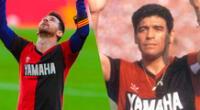 Diego Maradona es recordado por su paso en el Lepra.