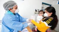 Más de 300 niños fueron vacunados.