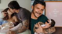 Mario Hart y Korina Rivadeneira agradecieron a todos los que sintonizaron su proyecto en YouTube, que retrató los primeros meses con su hija Lara.