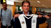 Pinto quiere ser el DT de Alianza Lima en el ascenso.