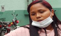 Nancy López denunció a uno de sus vecinos, quien es policía, por el delito de violencia contra la mujer tras ser agredida.