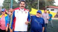 Gobierno de Maduro rendirá homenaje a Maradona