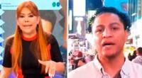 Magaly Medina sorprendida con el estado civil de Jonathan Maicelo.