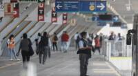 Usuarios del Metropolitano se ven afectados con paro de concesionarios.