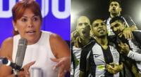 Magaly Medina cuestiona las medidas de tomó la dirigencia de Alianza Lima tras indisciplinas de jugadores.
