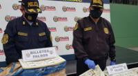 El líder de la banda criminal ya tenía antecedentes de falsificación de dinero, según la PNP.