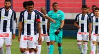 Alianza Lima se queda en segunda