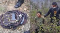 Personal del INPE intervino al ex recluso Parmenio Quispe Molocho cuando intentaba arrojar droga al techo del penal