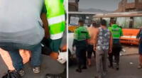 El conductor del vehículo resultó con algunas lesiones y luego de ser atendido por los paramédicos quedó detenido en la División de Investigación de Accidentes de Tránsito.