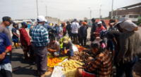 Protestas contra le Ley de Promoción Agraria cumple cinco días sin llegar a un acuerdo con el Poder Ejecutivo.