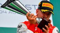 Mick Schumacher campeón mundial de la F2.