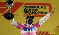 Mexicano Sergio Pérez firma su primer triunfo en Fórmula 1