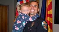 Cuando los servicios de protección infantil necesitaron encontrar a Kaila un hogar temporal, la familia del policía intervino sin dudarlo.