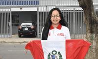 Escolar peruana es la mejor matemática de Sudamérica.