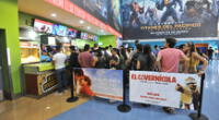 Reapertura de cines en el Perú.