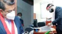 El Ministerio Público de Lima Sur allanó oficina y dos viviendas del fiscal José Luis Conga Bautista