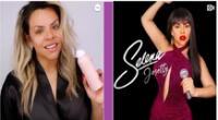 Josetty Hurtado se transforma en Selena.