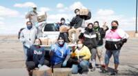 """""""Navajo & Hopi Families COVID-19 Relief Fund"""" es una iniciativa de Yee Ha'oolniidoo, una organización sin fines de lucro liderada por indígenas"""