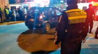 Suboficial PNP provoca triple choque en Manchay