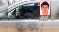 Fue interceptado por sujetos que escaparon en auto rojo.