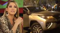 Sofía Franco da positivo en el dosaje etílico tras accidente de tránsito.