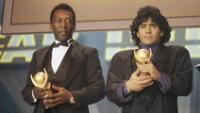 Pelé y Maradona en el equipo histórico