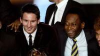 Lionel Messi es considerado en el equipo ideal de la historia.