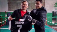 Cristiano Ronaldo junto a Govin.