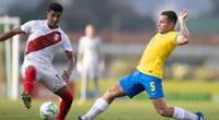 Perú fue superado en el cuadrangular internacional Sub 20   Foto: @CBF_Futebol