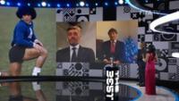Sentido homenaje a The Best a Maradona y  Paolo Rossi.