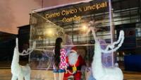 Niños podrán visitar a Papá Noel