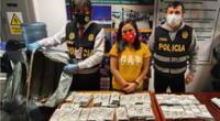Ministerio Público pide prisión para Janett Chávez Aliaga por llevar dólares falsos a los Estados Unidos